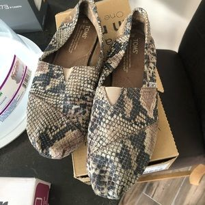 Snakeskin Toms